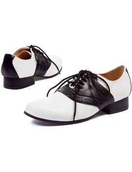 saddle-black_white-shoes-womens-adult-halloween-costume-accessory by ellie-shoes-inc
