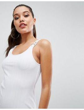 asos-clip-strap-bodycon-dress-in-heavy-rib by asos-collection
