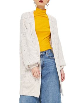 long-open-front-cardi by topshop
