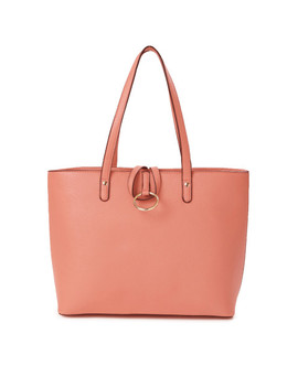 dressberry-coral-pink-shoulder-bag by dressberry