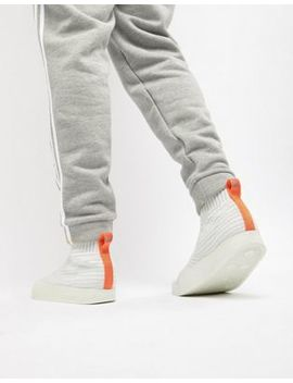 adidas-originals-adilette-primeknit-sock-summer-trainers-in-white-cm8226 by adidas-originals