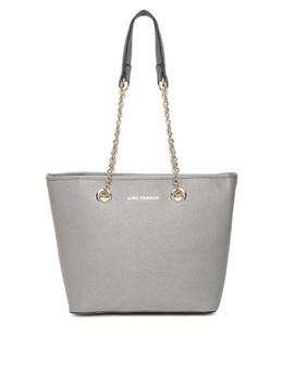lisa-haydon-for-lino-perros-grey-shoulder-bag by lino-perros