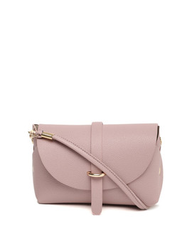 dressberry-purple-textured-sling-bag by dressberry
