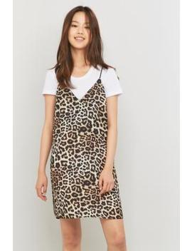 sparkle-&-fade-animal-print-slip-dress by sparkle-&-fade