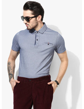 blue-solid-slim-fit-polo-t-shirt by tommy-hilfiger