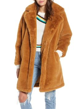 faux-fur-teddy-coat by woven-heart