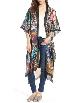 patchwork-maxi-ruana by echo