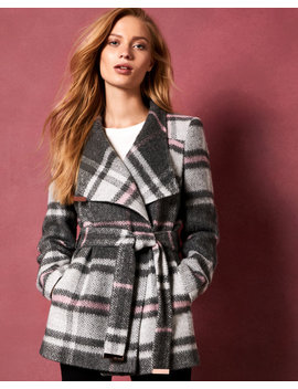 short-check-wool-wrap-coat by ted-baker