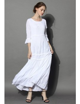 grace-vines-embroidered-maxi-dress-in-white by chicwish