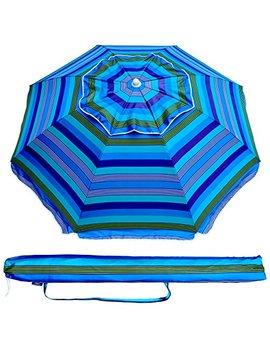 ammsun-65-ft-outdoor-patio-beach-umbrella-sun-shelter-with-tilt-air-vent-carry-bag by ammsun