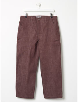 other-felix-denim-trouser-rust by other