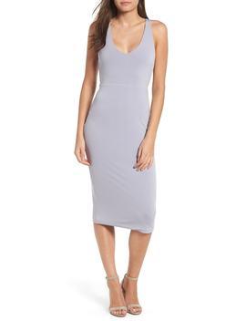 sleek-knit-midi-dress by leith