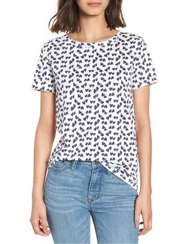 heart-print-tee by jcrew