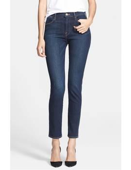 denim-le-high-skinny-jeans by frame