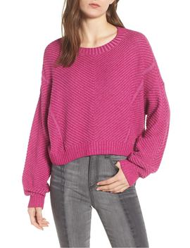 plaited-drop-shoulder-sweater by bp