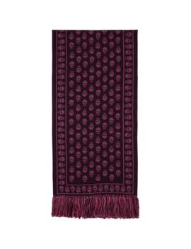 purple-&-pink-large-upside-down-skull-scarf by alexander-mcqueen