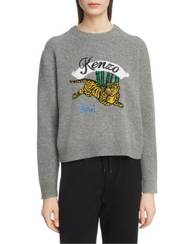 jumping-tiger-wool-sweater by kenzo