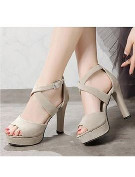cross-strap-high-heel-sandals by freesia