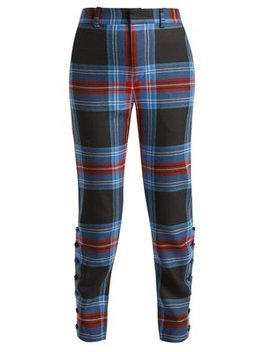 teddy-tartan-wool-trousers by charles-jeffrey-loverboy