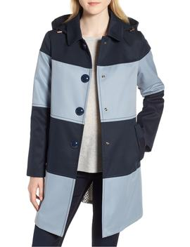 colorblock-raincoat by kate-spade-new-york