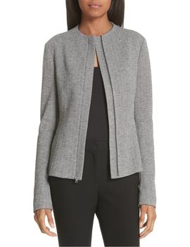 sculpted-chevron-jacket by theory