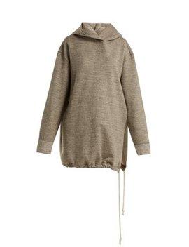 side-split-japanese-jersey-hooded-sweatshirt by raey