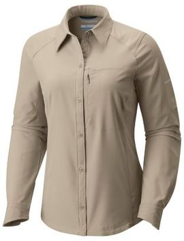 Women's Silver Ridge™ Long Sleeve Shirt by Columbia Sportswear