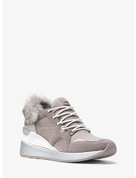 Scout Mixed Media Sneaker by Michael Kors