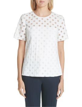 dot-blouse by akris-punto