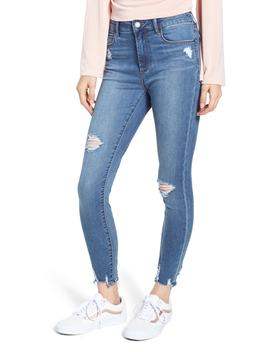 heather-high-waist-distressed-skinny-jeans by articles-of-society