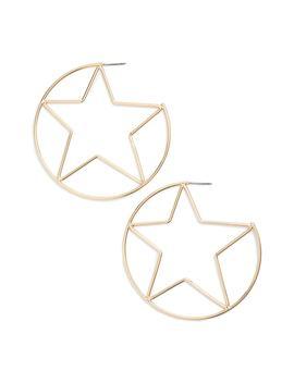 large-star-hoop-earrings by rebecca-minkoff