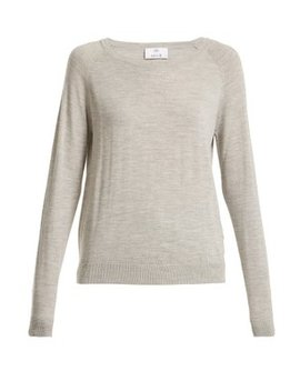 round-neck-long-sleeved-wool-t-shirt by allude