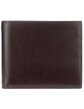 john-lewis-paisley-bifold-leather-wallet,-brown,-brown by john-lewis