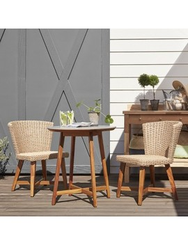 staton-3pc-wood-patio-bistro-set---tan---smith-&-hawken by shop-collections