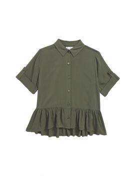 ruffle-hem-shirt by love,-fire