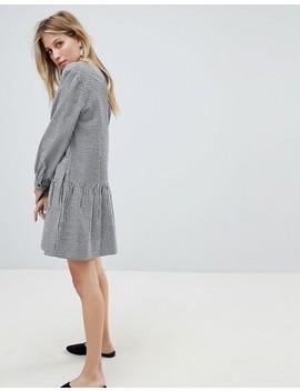 vestido-de-vichy-con-bajo-asimétrico-de-whistles by asos