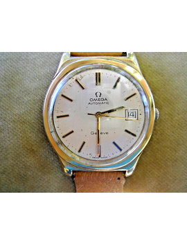 1973-omega-automatic-geneve-gentlemans,-37mm-case,-serviced-caliber-1012 by etsy