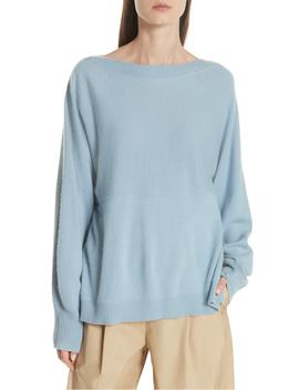 layered-back-wool-cashmere-boatneck-sweater by vince