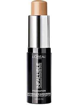 loreal-paris-makeup-infallible-longwear-foundation-shaping-stick,-up-to-24hr-wear,-medium-to-full-coverage-cream-foundation-stick,-408-tan,-03-oz by loreal-paris