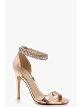 embellished-ankle-strap-2-part-heels by boohoo