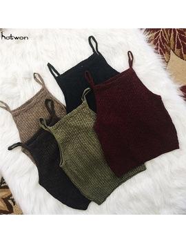 new-hot-sale-fashion-women-knitwear-sleeveless-tops-shirt-blouse-casual-crop-tops-t-shirts by gogoboi