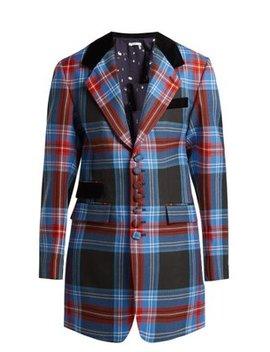 tartan-wool-blazer by charles-jeffrey-loverboy
