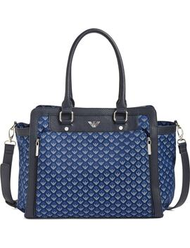 logo-nylon-diaper-bag by armani-junior