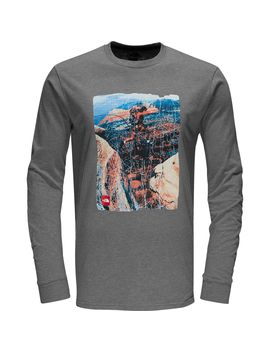summit-t-shirt---long-sleeve---mens by the-north-face