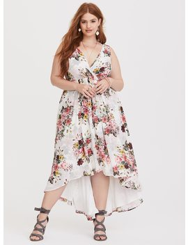 special-occasion-white-floral-chiffon-dress by torrid