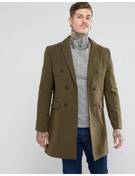 bellfield-double-breasted-wool-mix-jacket by bellfield