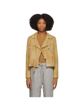 brown-suede-suokki-jacket by acne-studios