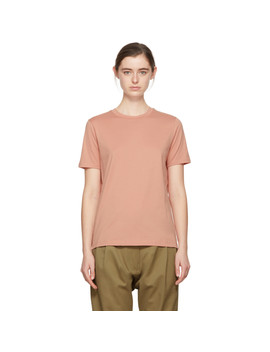 pink-taline-e-base-t-shirt by acne-studios