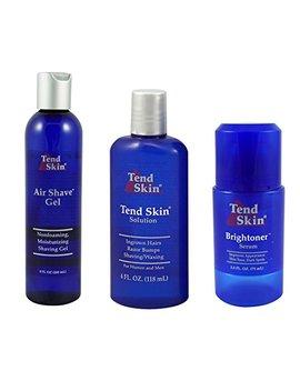 tend-skin-razor-burn-shaving-kit-[shave-gel-+-post-shave-+-brightoner-serum-] by tend-skin