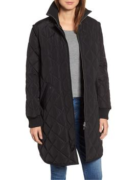 quilted-a-line-jacket by sosken